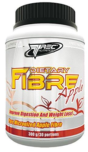 Trec Nutrition Dietary Fibre Apple Unterstützt Eine Gesunde Darmfunktion Fettburner Fettverbrenner Sport Bodybuilding 300g Dose
