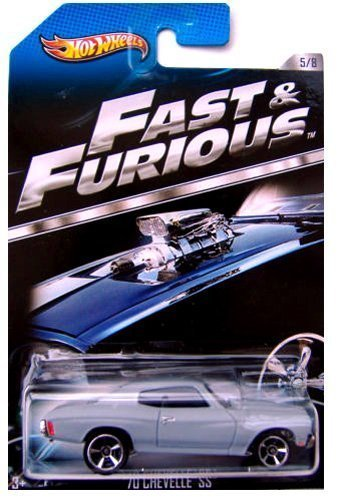 Hot Wheels - Macchinine serie Fast and Furious - '70 Chevelle SS - 5 di 8
