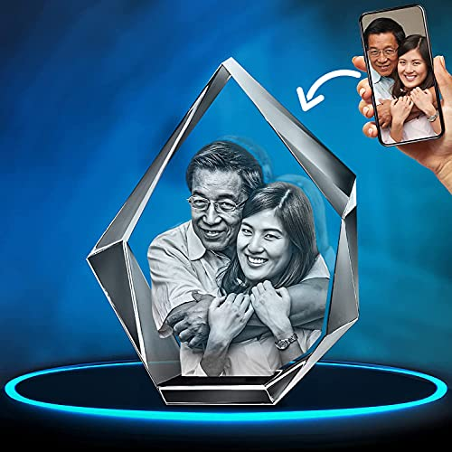ArtPix 3D Crystal Photo, Personalized Gift With Your Own Photo, 3D...