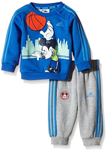 adidas Baby Jogginganzug Micky Maus, Mehrfarbig, Gr.  86, AB5218