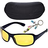 Best Night Vision Driving Glasses - Divine Night Driving Vision Anti-Glare Glasses with Zipper Review