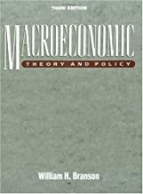 Best macroeconomic theory and policy william branson Reviews