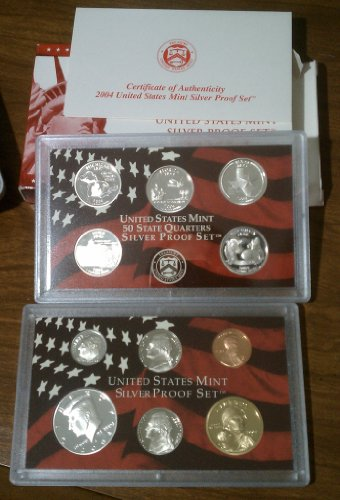 2004 U.S. Mint Silver Proof Set