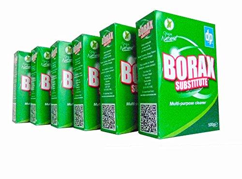 Borace - Detergente multiuso multiuso, 500 g, confezione da 6