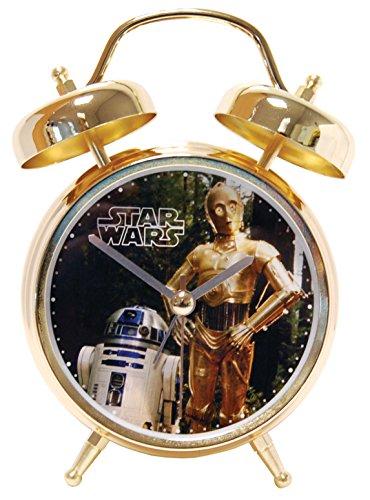 STAR WARS R2-D2 & C-3PO Alarm Clock with sound