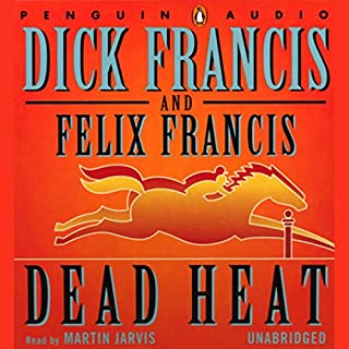 Dead Heat audiobook cover art