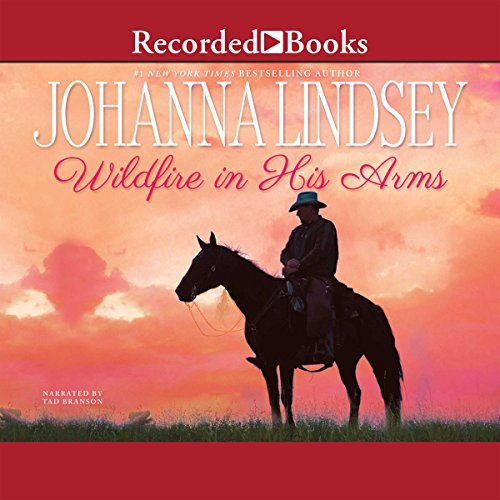 Wildfire in His Arms audiobook cover art