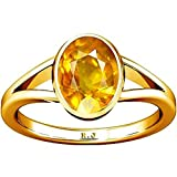 Divya Shakti Yellow Sapphire Ring by Ramneek Jewels