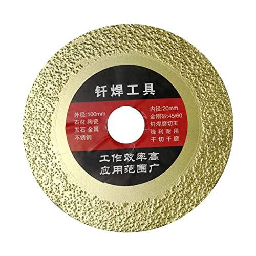 Durable Trituradora de circular hoja de sierra circular de carburo de punta de corte de madera de discos duradero for la madera Adecuado para cortar (Color : B No Slotted)