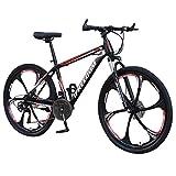 Foruneed Mountain Bike for Men 26inch Carbon Steel Mountain Bike 24 Speed Bicycle