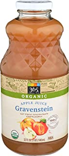 365 Everyday Value, Organic Juice Not from Concentrate - Pasteurized, Gravenstein Apple, 32 fl oz