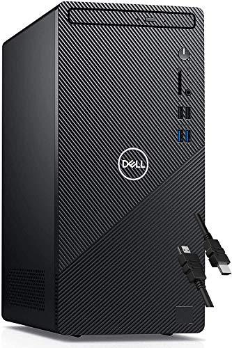 2020 Flagship Dell Inspiron 3880 Desktop 10th Gen Intel Octa-Core i7-10700 (Up to 4.8Ghz) 64GB RAM 2TB SSD USB3.2 HDMI VGA WiFi Bluetooth Card Reader Win10 + iCarp HDMI Cable - NO DVDRW