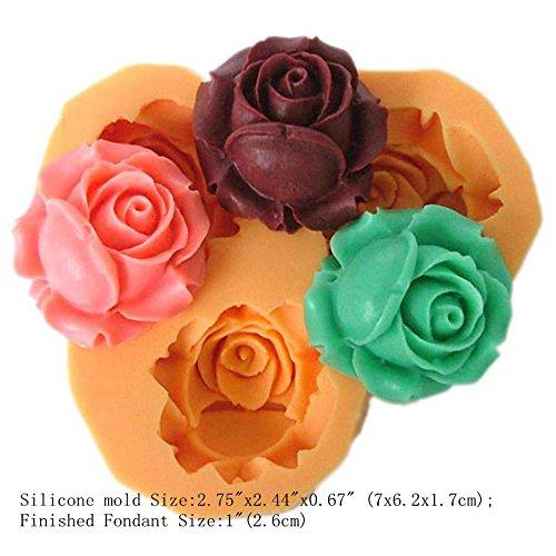 86/5000 3D Silikon Mini Kuchenform für Kuchen Fondant Dekorieren Gelee Eiswürfel Schokoladenformen (X041)