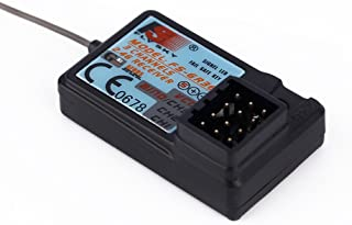 Upgraded Waterproof Flysky FS-GR3E 2.4G 3CH Receiver DC 5V for FS-GT2 FS-GT2B FS-GT3B FS-GT3C FZ-IT4S RC Car Boat Transmitter