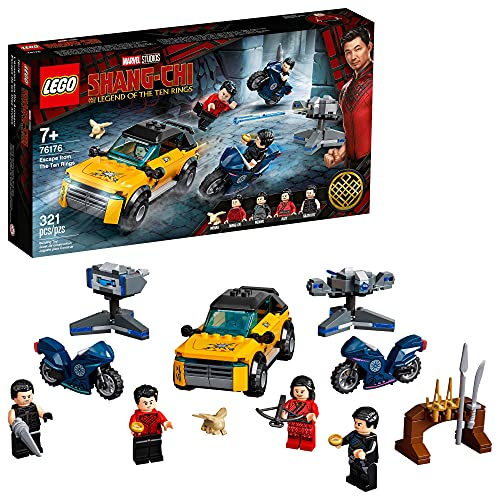 LEGO Marvel Shang-Chi Escape from The Ten Rings 76176 Building Kit (321 Pieces)