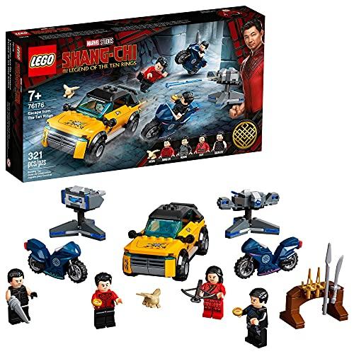 LEGO® Marvel Shang-Chi Fuga de Os Dez Anéis