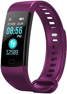 Reloj de Seguimiento de Actividad de Contador de Paso de calorías Smart Band de 0,96 Pulgadas Monitor de frecuencia cardíaca (Color: Verde)