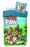 Paw Patrol Bettwäsche 135x200 cm 80x80 cm Kissenbezug Bettbezug Kinder Jungen Baumwolle Öko-Tex...