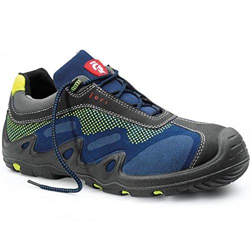 JORI Sicherheitsschuhe HARVEY Low S3, Damen und Herren, Sneaker, sportlich, Blau, Kunststoffkappe - Größe 44