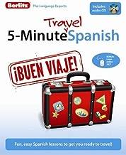 Berlitz 5-Minute Travel Spanish (Spanish Edition)