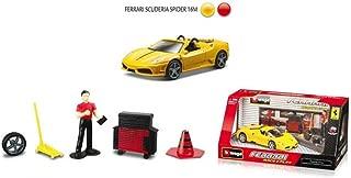 Bburago 1:32 Race & Play Die-Cast Ferrari Scuderia Spider 16M