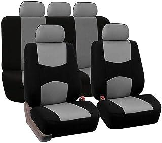 winterswet 9 STÜCKE Sitzbezüge Auto Universal Autositzbezüge atmungsaktiv bequem schmutzabweisend, verschleißfest Autositzbezug Auto Sitzbezug Sitzschoner