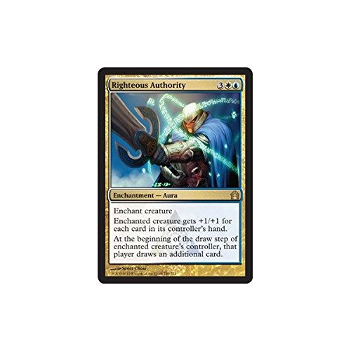 Magic: the Gathering - Righteous Authority (189) - Return to Ravnica by Magic: the Gathering