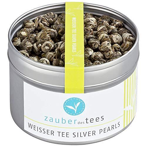 Zauber des Tees Weißer Tee Silver Pearls, 95g
