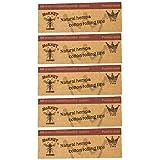 Hornet tips 5 冊/ナチュラルヘンプ & コットン チップ ローチ 5冊セット (1冊50枚入)