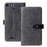 Lankashi Flip Premium Leather TPU Silicone Phone Gel Case