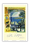 Côte d'Azur - Picasso's Studio Pigeons Velazquez -