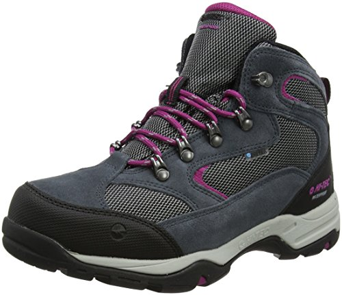 Hi-Tec Damen Storm Waterproof Trekking- & Wanderstiefel, Grau (Graphite/cool Grey/Boysenberry), 42 EU