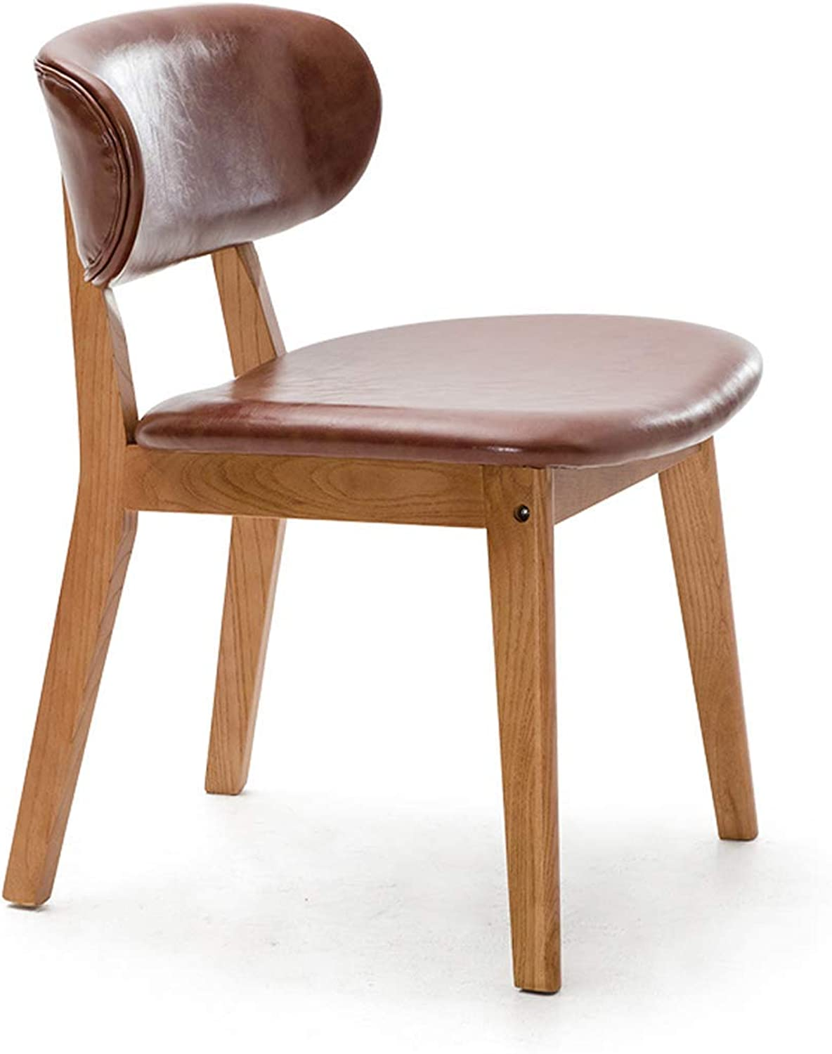 Nordic Dining Chair Household Backrest Chair Modern Simple Restaurant Leisure Chair Solid Wood Chair Creative Desk and Chair 6 Carl Artbay Strong and Practical