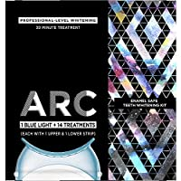 ARC Blue Light Teeth Whitening Kit 1 Blue Light + 14 Treatments