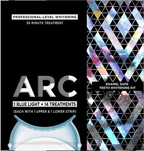 ARC Blue Light Teeth Whitening Kit (1 Blue Light + 14 Treatments) $17.10 + Free Shipping w/ Amazon Prime or Orders $25+