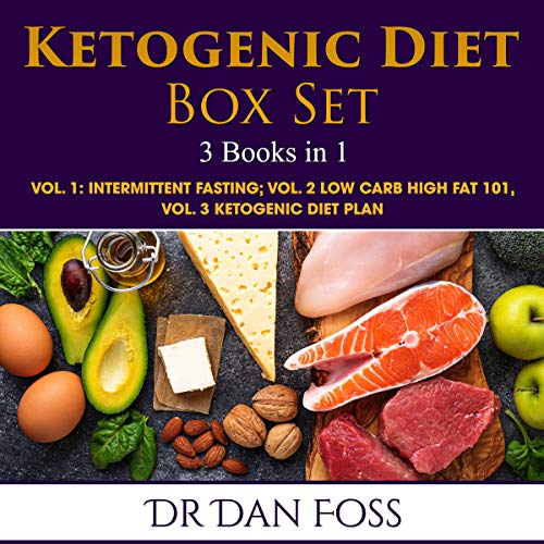 Ketogenic Diet Box Set 3 Books in 1 cover art