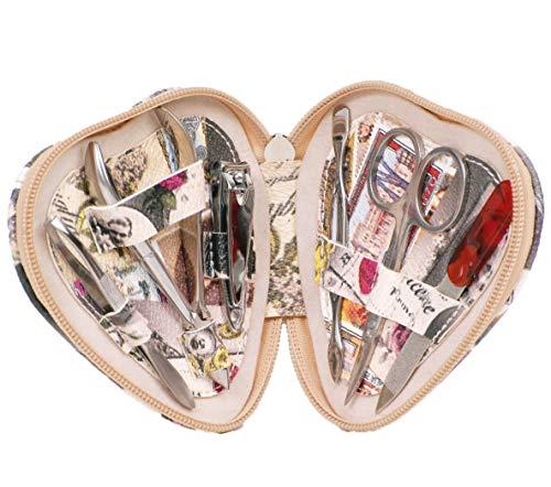 Mon Amour, Kit de manicura y pedicura de viaje, hecho a mano,...