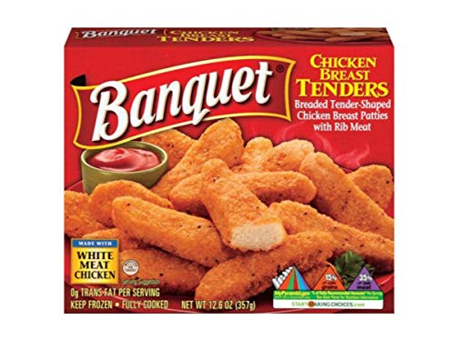 Conagra Banquet Boneless Chicken Breast Tender, 12.6...