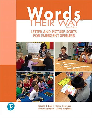 Download Words Their Way Letter and Picture Sorts for Emergent Spellers (3rd Edition) (What's New in Literacy) 0134773675