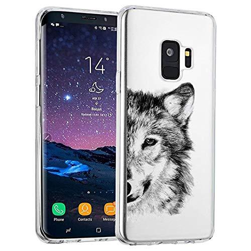 Alsoar Compatibile/Sostituzione per Galaxy S9 Cover Clear Ca