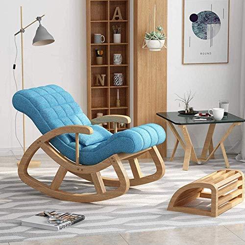 REWD schommelstoel, gestoffeerde glijder en comfort schommelende kinderkamer stoel bank lezen lounge stoel glad schommelen beweging eenvoudig te monteren