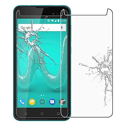 ebestStar - kompatibel mit Wiko Sunny 2 Plus Panzerglas Schutzfolie Glas, Schutzglas Bildschirmschutz, Bildschirmschutzfolie 9H gehärtes Glas [Phone: 146.3 x 73.7 x 9.8mm, 5.0'']