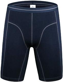 2 Pcs Lot Men'S Boxer Shorts Casual Cotton Knee Length Men Long Leg Sport Boxer Man Thin Underpans