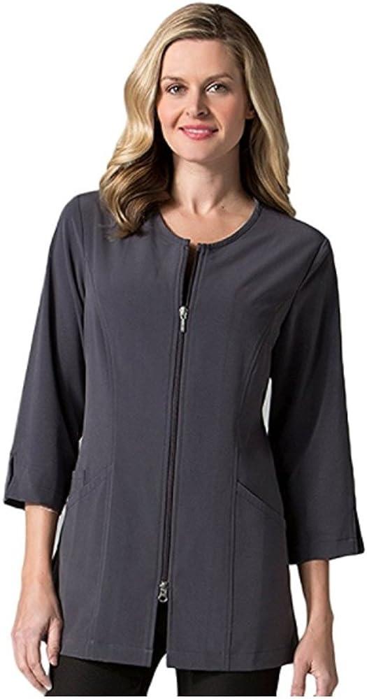 "Directly managed store Maevn Smart Lab Coats - Sleeve half 4"" Ladies Jacket 3"