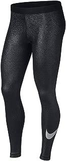 Womens Metallic Dri-Fit Leggings