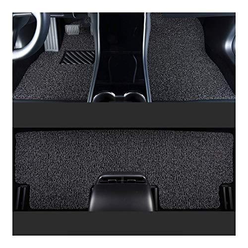 Huilian Mat Auto, Tappetino Antiscivolo Cappio automobilistico mochette Adatti for Citroen C3 (Colore : Gray-Black)