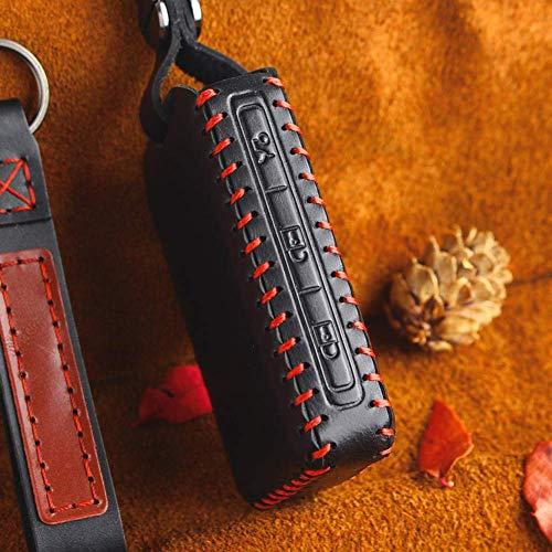 Cubierta De La Llave Del Coche Cubierta De La Caja De La Llave Para Los Accesorios Del Automóvil Del Coche Bolsa De La Cubierta De La Caja De La Llave Del Coche Inteligente De Cuero, Para Volvo S90