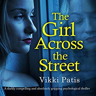 The Girl Across the Street audiobook cover art