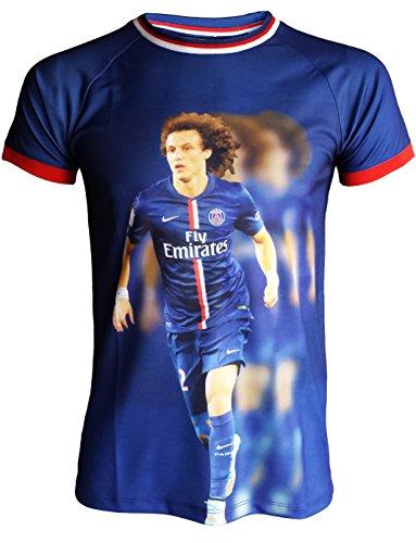 Paris Saint Germain - Maglia del Paris Saint Germain, David Luiz, numero 32, collezione ufficiale, taglia bambino 4 anni