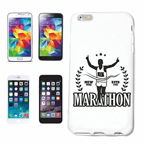 Reifen-Markt Hard Cover - Funda para teléfono móvil Compatible con Samsung Galaxy S4 i9500 Marathon Marathon Corredor de maratón EE.UU. Camisa Marathon Media MARAT